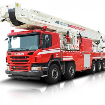 ZLF5500JXFDG70型登高平台消防车